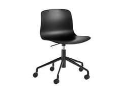 Sedia in polipropilene ad altezza regolabile con ruoteABOUT A CHAIR AAC 50 | Sedia in polipropilene - HAY