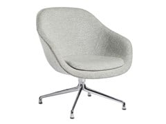 Poltroncina girevole con braccioli ABOUT A LOUNGE CHAIR AAL81 - HAY