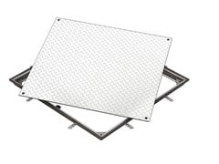 Chiusino in alluminio ACCESS COVER SOLID AL - A 15 - ACO Access Covers