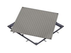 Chiusino in acciaio zincato ACCESS COVER SOLID GS - B125 - ACO Access Covers