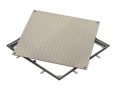 Chiusino e griglia per impianto idrosanitario ACCESS COVER SOLID SS - C250 - ACO Access Covers