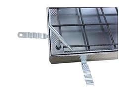 Chiusino in acciaio zincatoACCESS COVER UNIFACE GS - M125 - ACO PASSAVANT
