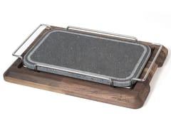 Tagliere rettangolare in pietra ollareACGCBPL010NO | Tagliere - OFFICINE GULLO