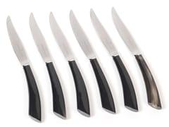 Set coltelli da bistecca in acciao inoxACGKNBN980AS | Coltello - OFFICINE GULLO