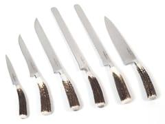 Set di coltelli in acciaio inoxACGKNCN990AS | Set di posate - OFFICINE GULLO