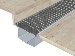 Elemento e canale di drenaggio in acciaio inoxACO BOX - ACO PASSAVANT
