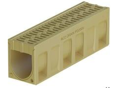 Canale di drenaggio in calcestruzzo polimericoACO DRAIN® MONOBLOCK PD150 V - ACO PASSAVANT