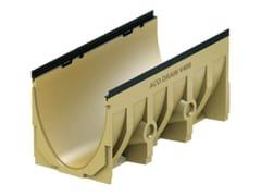 Elemento e canale di drenaggio in calcestruzzo polimericoACO DRAIN® MULTILINE V400 - 1000 mm - ACO PASSAVANT