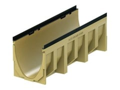 Elemento e canale di drenaggio in calcestruzzo polimericoACO DRAIN® Multiline V300 - 1000 mm - ACO PASSAVANT