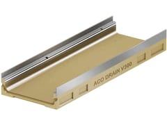 Corpo canale basso spessoreACO DRAIN® Multiline V300 basso spessore - ACO PASSAVANT