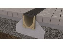 Canalette di drenaggio in calcestruzzo polimericoACO Self® Euroline 150 - ACO PASSAVANT