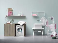 Birex, ACQUA E SAPONE COMP. 4 Mobile lavanderia con lavatoio