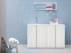 Mobile lavanderia con lavatoioACQUA E SAPONE COMP. 2 - BIREX