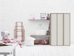 Mobile lavanderia componibile per lavatriceACQUA E SAPONE COMP. 3 - BIREX