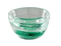 Vaso / centrotavola in vetro soffiatoACQUA | Vaso fatto a mano - VENINI