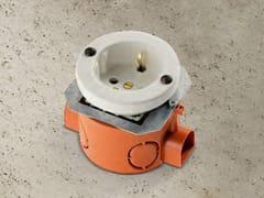 Presa elettrica singola in ceramicaACQUARIO | Presa Schuko - ALDO BERNARDI