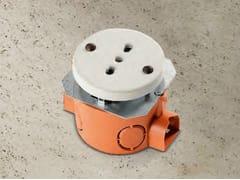 Presa elettrica singola in ceramicaACQUARIO | Presa elettrica - ALDO BERNARDI