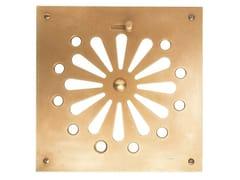 Griglia di ventilazione quadrata in ottoneACR003   Griglia di ventilazione - OFFICINE GULLO