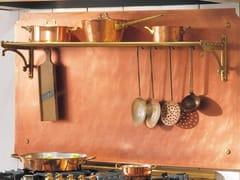 Schienale per cucina attrezzato in metalloACR038   Schienale per cucina - OFFICINE GULLO