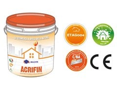 malvin, ACRIFIN Rivestimento minerale acrilico antialga al quarzo in pasta