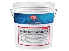 ATTIVA, ACRILAT INTONACHINO 1.0 Rivestimento acrilico antialga a spessore con aspetto di intonachino