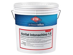 Rivestimento acrilico antialga a spessore con aspetto di intonachinoACRILAT INTONACHINO 1.5 - ATTIVA