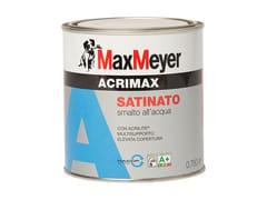 Smalto all'acquaACRIMAX SATINATO - MAXMEYER