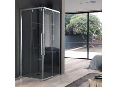 Box doccia ad angolo a quattro anteACRUX   Box doccia - SAMO