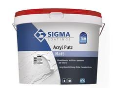 Rivestimento acrilico a spessore per superfici esterneACRYL PUTZ - SIGMA COATINGS
