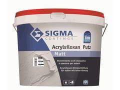 Rivestimento acril-silossanico a spessore per esterniACRYLSILOXAN PUTZ - SIGMA COATINGS