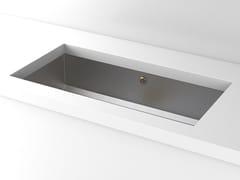 Lavello a una vasca da incasso sottotop in metalloACSUNDB00 | Lavello sottotop - OFFICINE GULLO