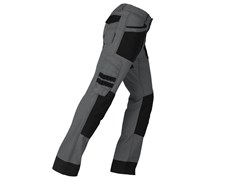 KAPRIOL, ACTIVE GRIGIO/NERO Pantalone elasticizzato slim
