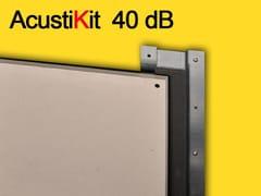Pannello fonoisolante e fonoassorbente per controsoffitto in cartongesso ACUSTIKIT 40 dB - Isolanti acustici