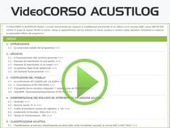 LOGICAL SOFT, VideoCORSO ACUSTILOG Progettazione e classificazione acustica degli edifici