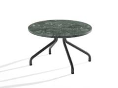 Tavolino rotondo in marmo con gambe in metalloAD.DA | Tavolino - B-LINE