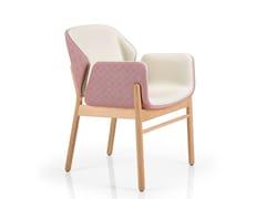 Sedia con braccioliADELE | Sedia con braccioli - J. MOREIRA DA SILVA & FILHOS