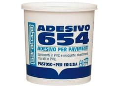 Adesivo acrilico per interniADESIVO 654 PER PAVIMENTI - SARATOGA INT. SFORZA