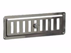 Griglia di ventilazione in acciaio inoxGRIGLIA REGOLABILE IN ACCIAIO INOX - DAKOTA GROUP