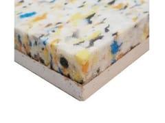 Lastre in cartongesso preaccoppiate con poliuretano riciclatoAE WALL - ISOLMEC