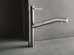 Miscelatore da cucina da piano con doccetta estraibileAF/21 - A753F - ABOUTWATER
