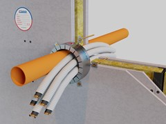 Collare antifuoco intumescenteAF COLLAR - AF SYSTEMS
