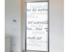 Pannello di rivestimento per porte blindateAFORISMI - ALIAS SECURITY DOORS