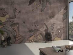Carta da parati lavabileAFRICANISM - WALLYART