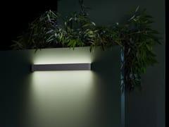 Lampada da parete per esterno a LED a luce diretta e indiretta in alluminioAFRODITA INFINITE - LEDS C4