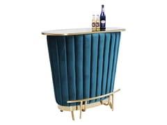 Mobile bar in legnoAFTER WORK GOLD - KARE DESIGN