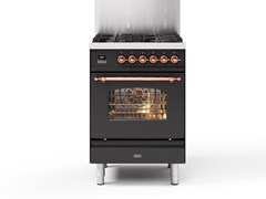 Cucina a libera installazione in acciaioP06N | Cucina a libera installazione - ILVE