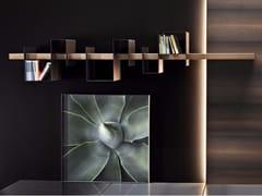 Mensola in legno e metallo verniciatoAGO & FILO - APP DESIGN