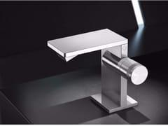 Miscelatore per bidet da piano in acciaio inox senza scaricoAIC4 | Miscelatore per bidet - RADOMONTE