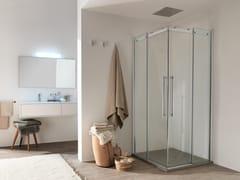 Box doccia in vetro con porta scorrevoleAIR - 1 - INDA®
