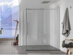 Box doccia in vetro con porta scorrevoleAIR - 2 - INDA®